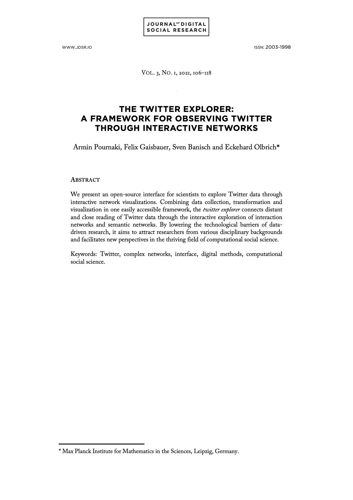Pournaki et al cover image